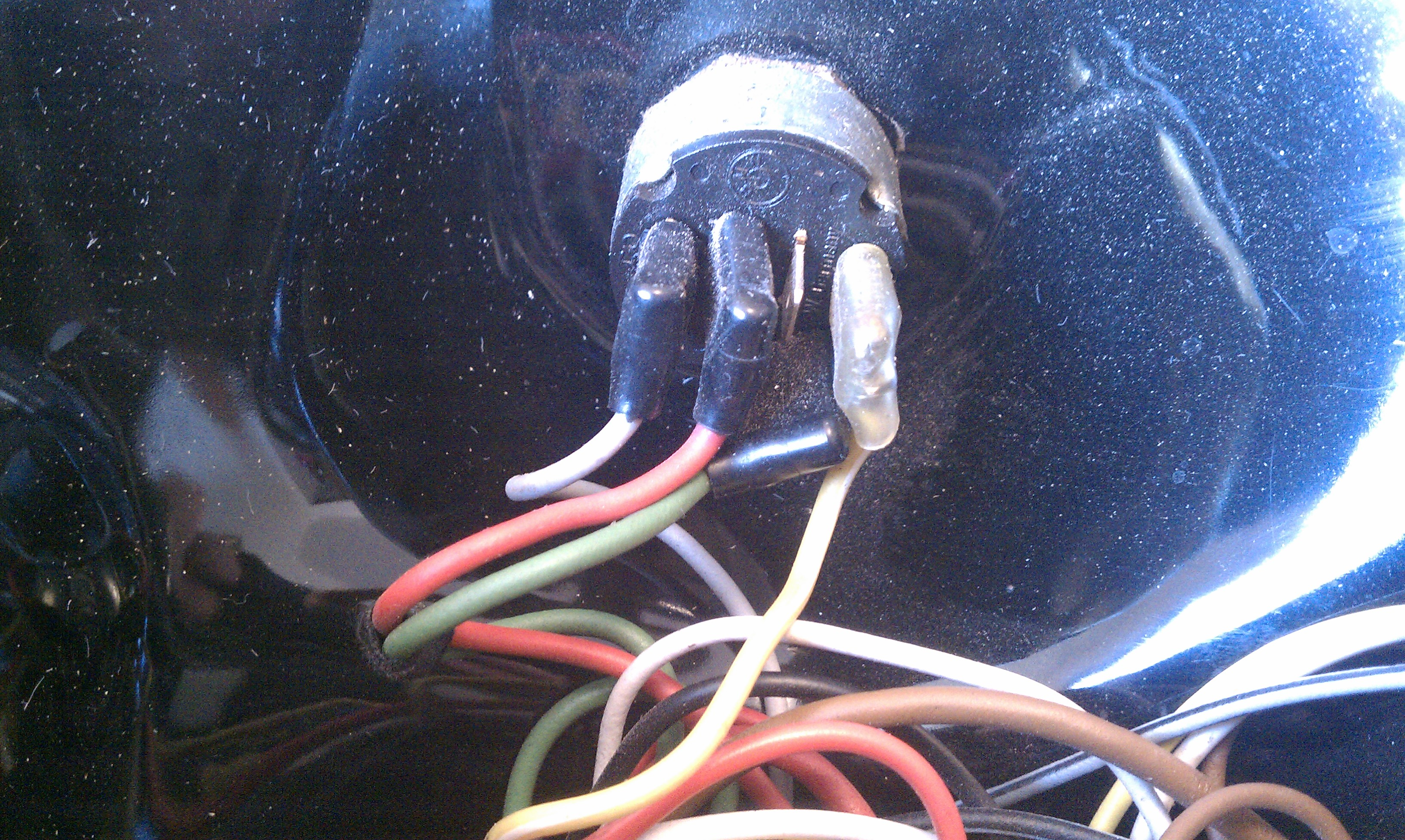 r90s headlight and wiring harness 07