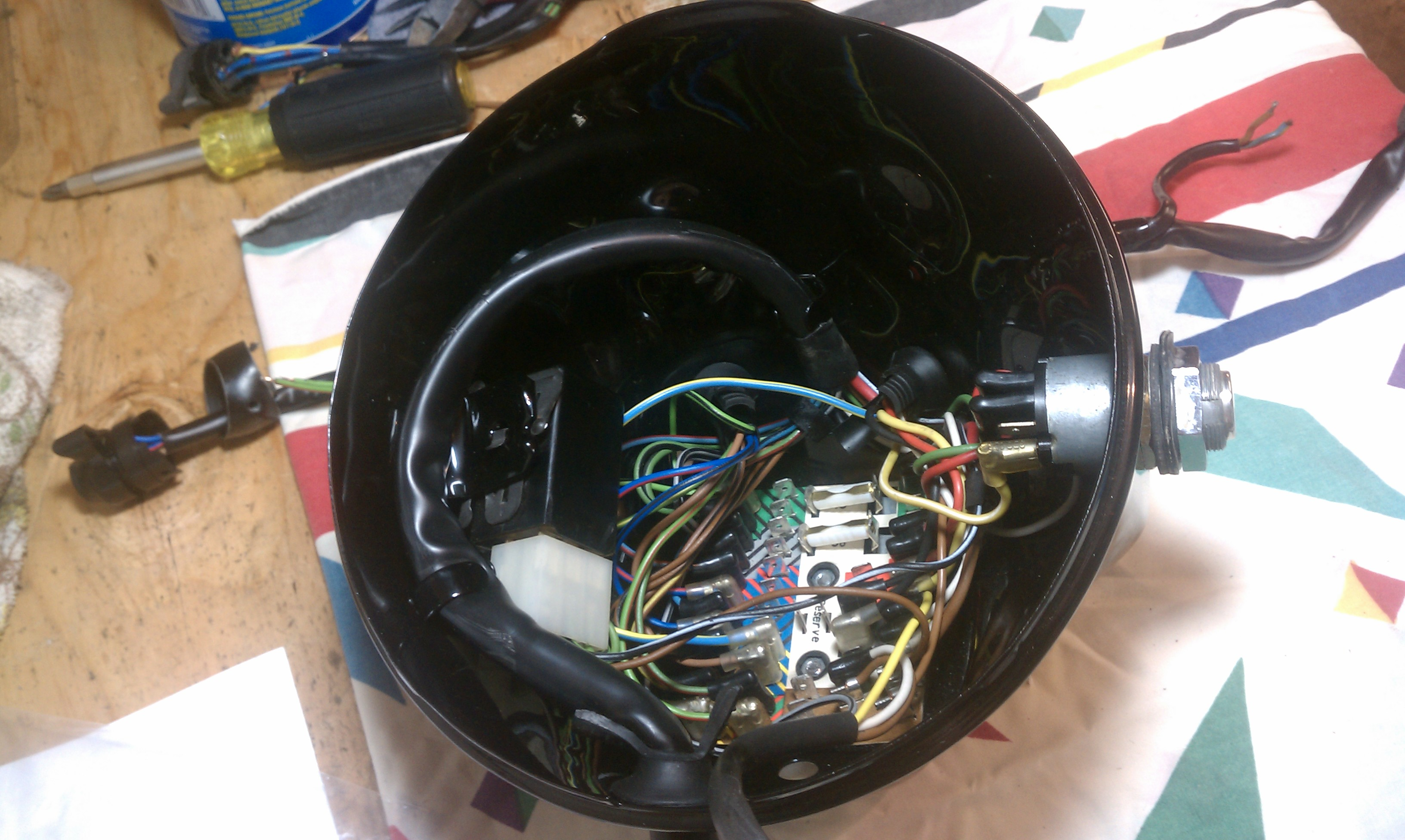 Fabulous More Parts On The Bmw R90S Project Wiring Database Obenzyuccorg