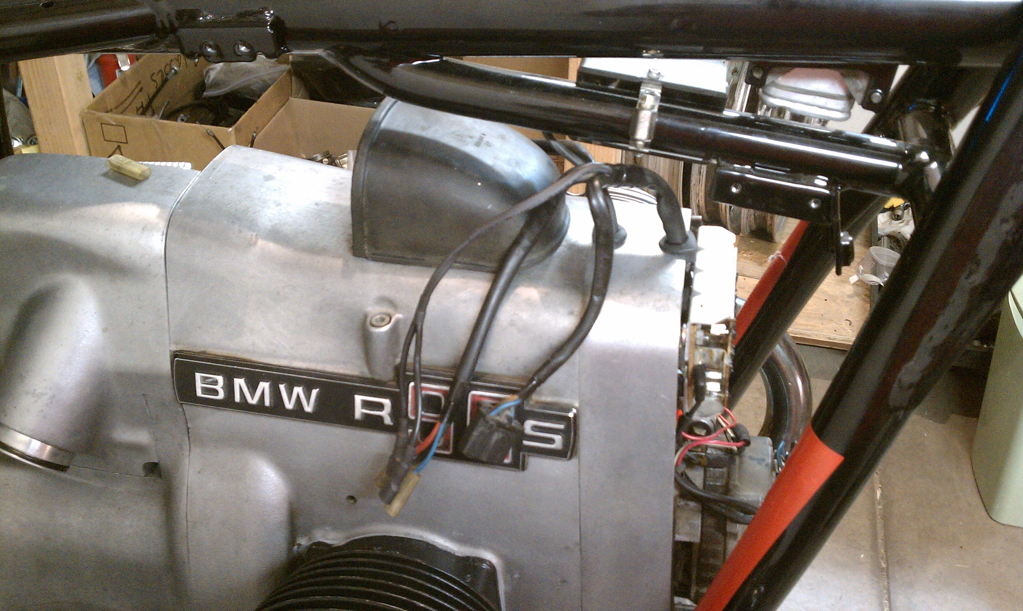 Enjoyable Busy Weekend The Bmw R90S Project Wiring Database Obenzyuccorg